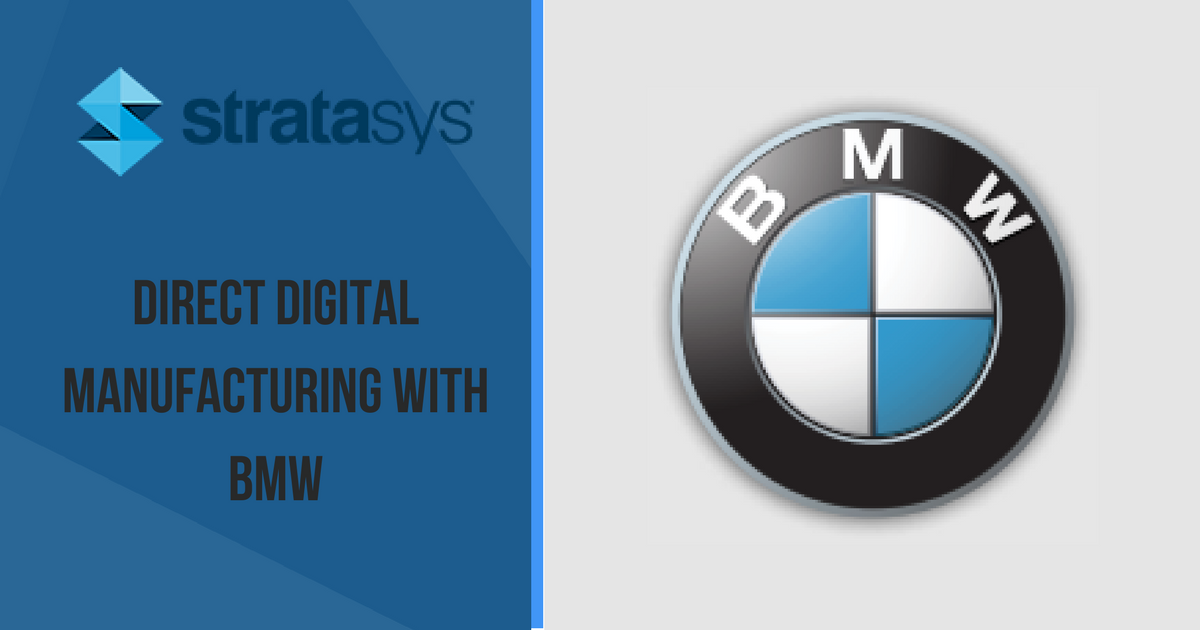 Stratasys 3D Printing Case Study with BMW