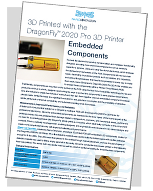 Embedded Components with Nano Dimension Embedded Components Case Study