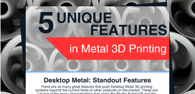 Metal 3D Printing Infographic